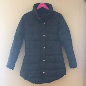 NWOT Gap quilted long jacket